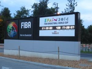 FIBA sign