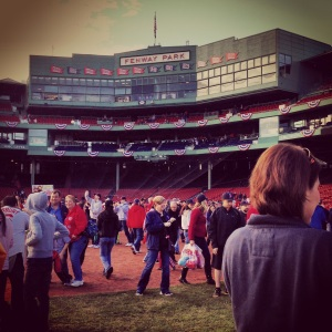 Fenway Park September 2013