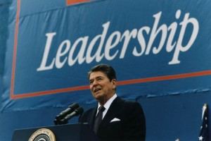 What leadership path is Reagan following?