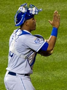 Salvador Perez, star catcher for the Royals