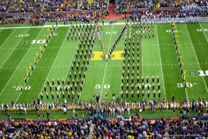 The Michigan Marching Band