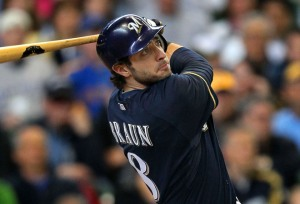 Ryan Braun at the Plate front the Milwaukee Wisconsin Journal Sentinel