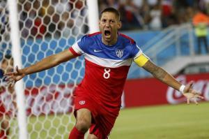 US Men's National Team captain, Clint Dempsey