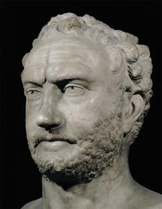 Thucydides both fought in the Peloponnesian War (431 – 404 BCE) and authored stories from it, such as the Melian Dialogue.