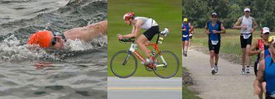 Triathletes