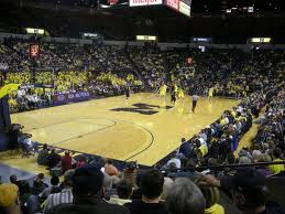 Crisler Arena Bumping for Against Syracuse