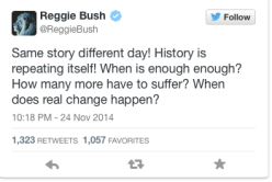 This is a screenshot from Reggie Bush's twitter.