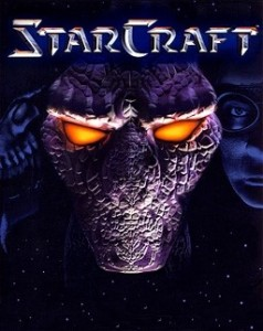 StarCraft, an intense online action game that is very popular in eSports.